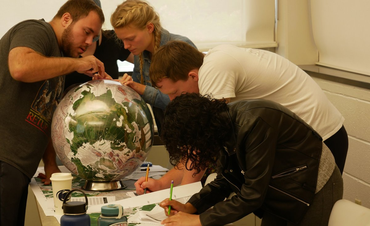 Real World Globes in the classroom