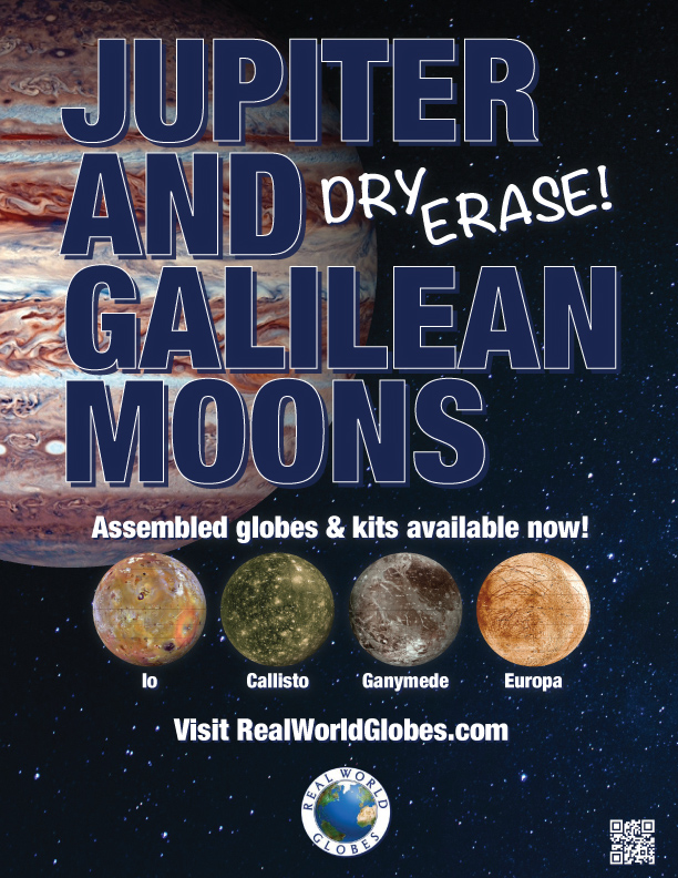 Juptier and the Galilean Moons